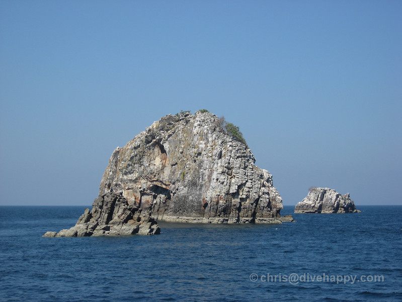 Three Islets, Burma