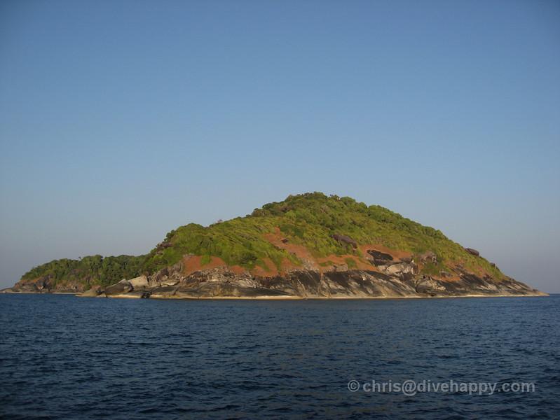 Above the Water in Mergui - Diving Burma