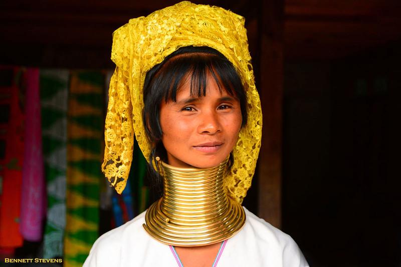 Kayah Woman - Remote Kayah State