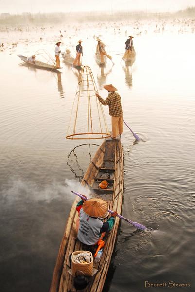 5 Fishermen - Inle