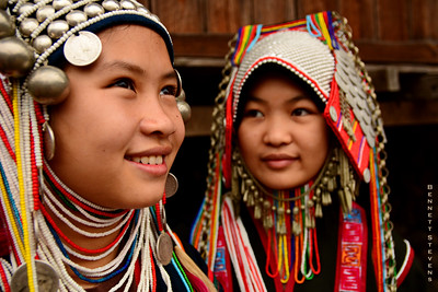 Akha Girls - Eastern Shan