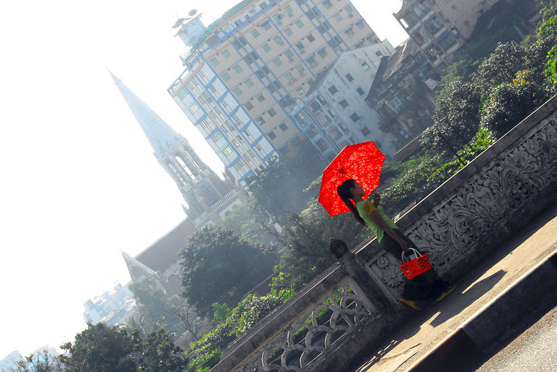 Red Umbrella - From the Hip, Yangon