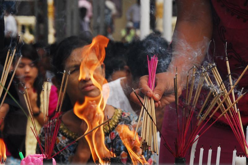 Hands of Fire - Yangon