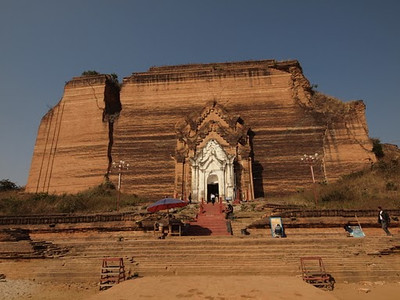 Mingun's Unfinished Pagoda  [photo credit: Kevin Revolinski]