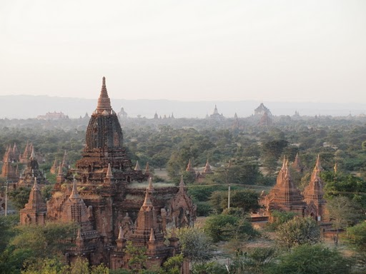A view over Bagan  [photo credit: Kevin Revolinski]