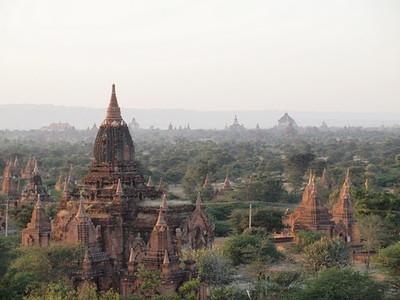 A view over Bagan  [photo credit: Kevin Revolinski]