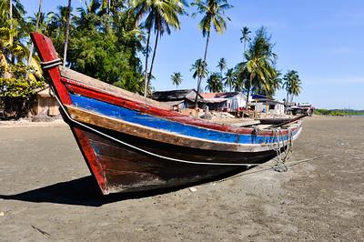 Burmese Boats