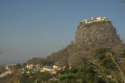 Mount Popa, Myanmar - Temple In The Sky, image copyright Chris Mitchell
