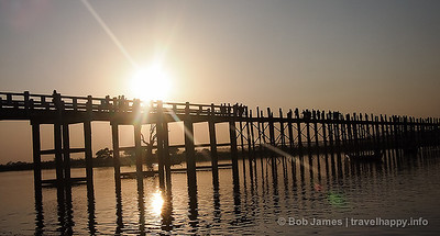 Amarapura, Sagaing and Inwa - Burma's Ancient Capitals, image copyright Bob James