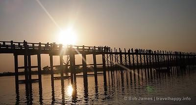 Amarapura, Sagaing and Inwa - Burma's Ancient Capitals, image copyright Bob James