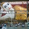 """""""Giant Reclining Buddha, Chaukhtatgyi Temple, Yangon"""""""