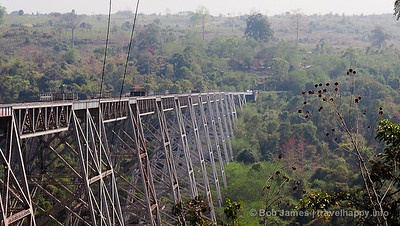 Gokteik Viaduct, Myanmar – The Jawdropping Railway Bridge Between Two Mountains, image copyright Bob James