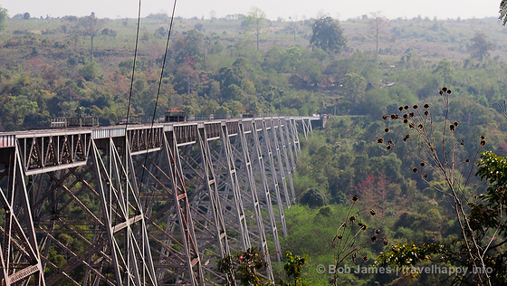 The Gokteik Viaduct is one of Myanmar's must see landmarks