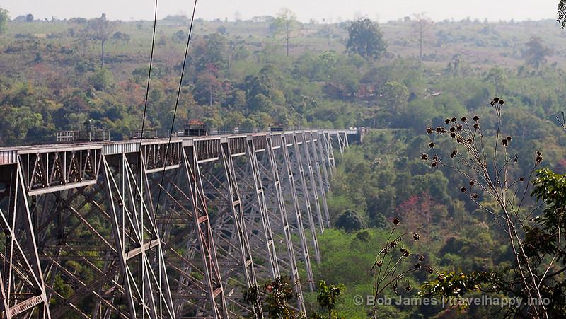 The Gokteik Viaduct is one of Myanmar's must see landmarks