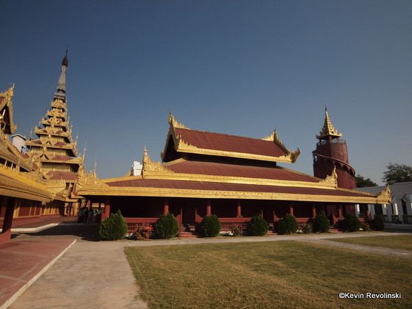Mandalay Palace  (photo credit: Kevin Revolinski)