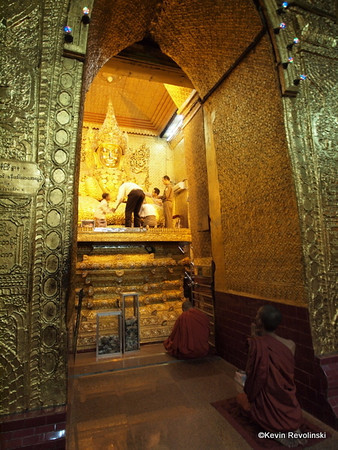 Mahamuni Pagoda, Mandalay (photo credit: Kevin Revolinski)