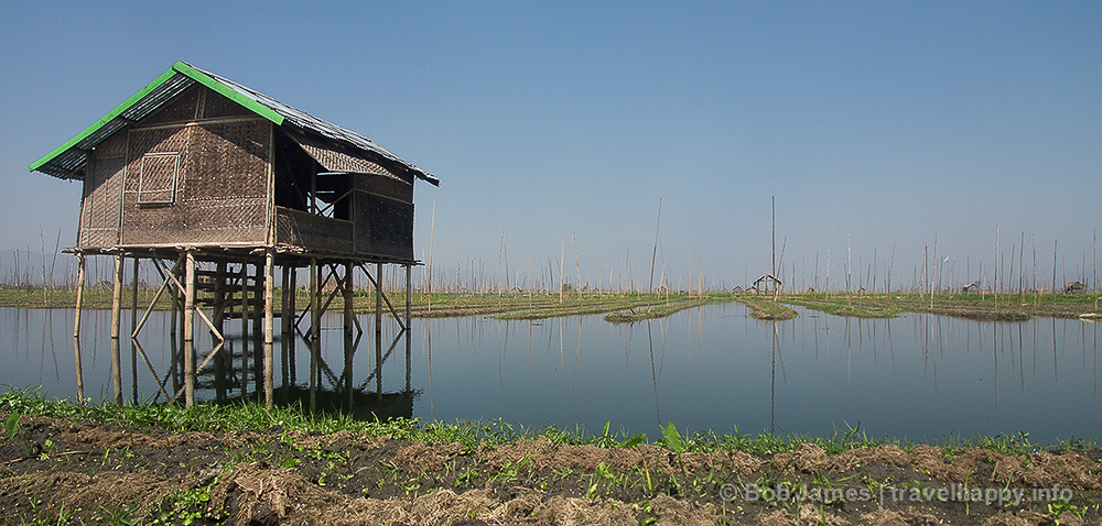 """The """"floating gardens"""" of Inle Lake"""