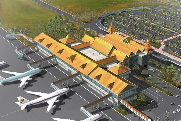 Hanthawaddy Airport - Artist's impression