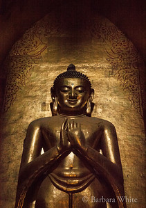 Buddha At Ananda Temple