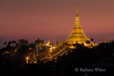 Shwedagon From A Secret Place