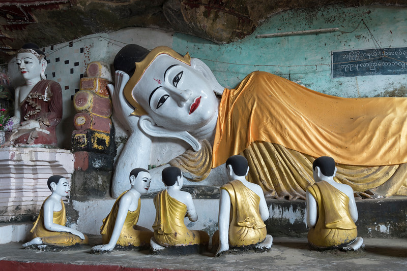 Kaw-goon Cave Temple, Mon State