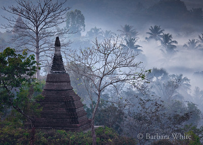 Temple At Mrauk U