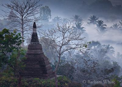 Temple At Mrauk U