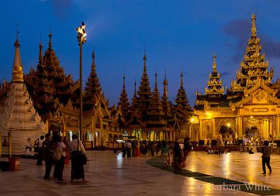 Shwedagon at Dusk