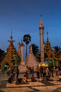 Shwedagon Towers