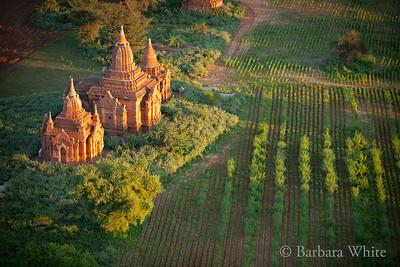 Bagan Temple At Dawn