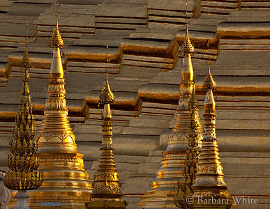 Spires At The Shwedagon