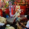 Dancers And Drummers<br /> Nat Festival<br /> Hintha Gon Shrine<br /> <br /> Bago, Burma<br /> 25 December 2012