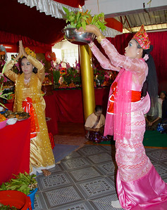Dancers with Food Offering