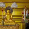Buddha Statue<br /> Hintha Gon Shrine<br /> <br /> Bago, Burma<br /> 25 December 2012