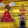 Buddha Statue With Cape<br /> Hintha Gon Shrine<br /> <br /> Bago, Burma<br /> 25 December 2012