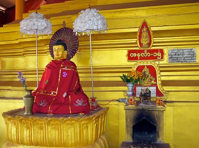 Buddha Statue with Cape