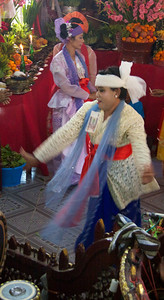 Dancer Twirling Around