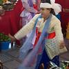 Dancer Twirling Around<br /> Nat Festival<br /> Hintha Gon Shrine<br /> <br /> Bago, Burma<br /> 25 December 2012