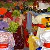 Back View Of Dancers<br /> Nat Festival<br /> Hintha Gon Shrine<br /> <br /> Bago, Burma<br /> 25 December 2012