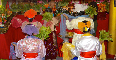 Back View of Dancers