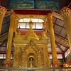 Gold Shrine<br /> Hintha Gon Shrine<br /> <br /> Bago, Burma<br /> 25 December 2012