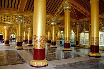 Columns and Walkway in the Main Entrance