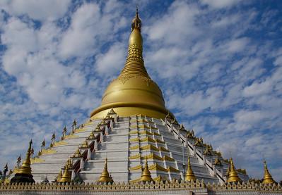 Stunning Stupa and Sky