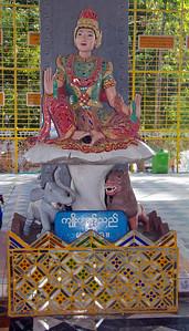 Colorful Statue