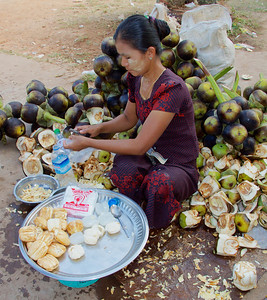 Mangosteen Vendor