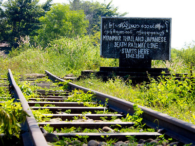 Burma-Siam Railway Starting Point