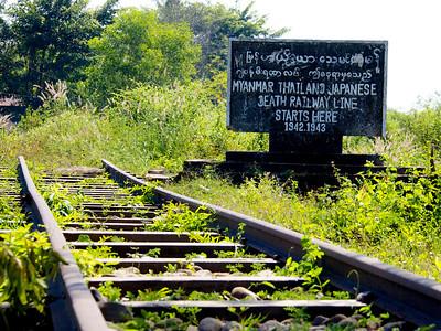 Burma-Siam Railway Starting Point
