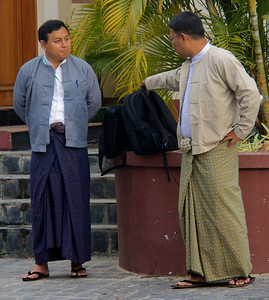 Men Wearing Local Business Attire