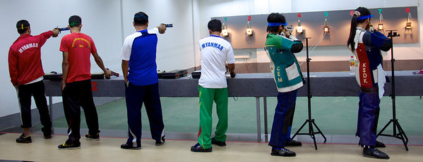 Air Pistol and Air Rifle Practice