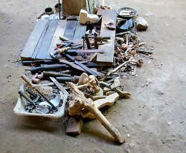 Tools at Work Station